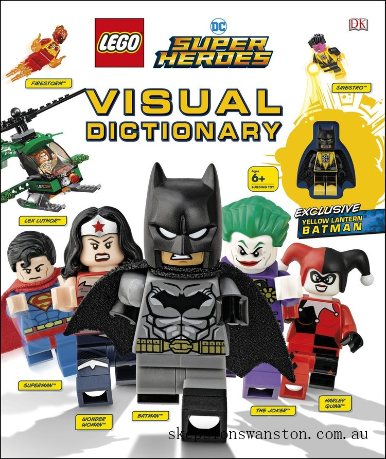Discounted Lego® DC Super Heroes Visual Dictionary