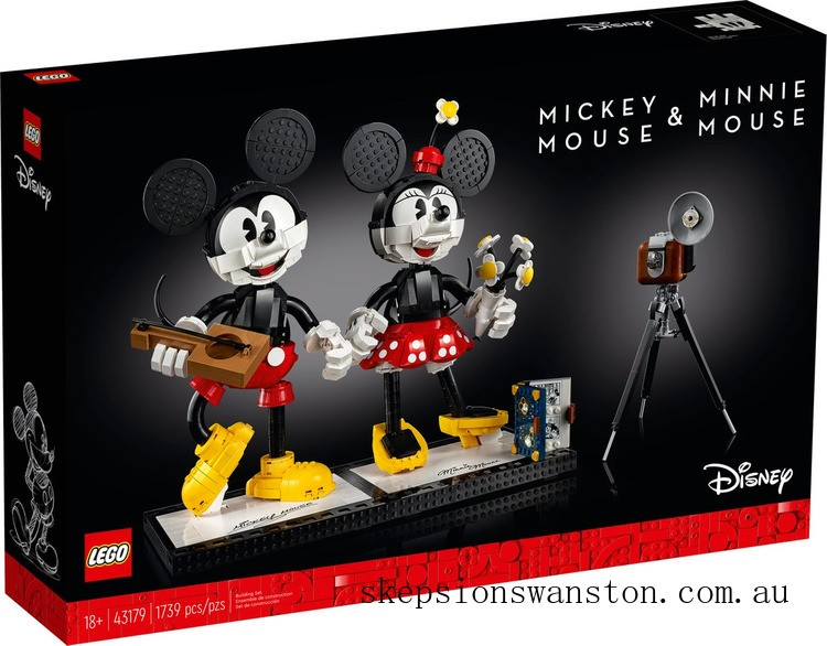 Hot Sale Lego Mickey Mouse & Minnie Mouse Buildable Characters