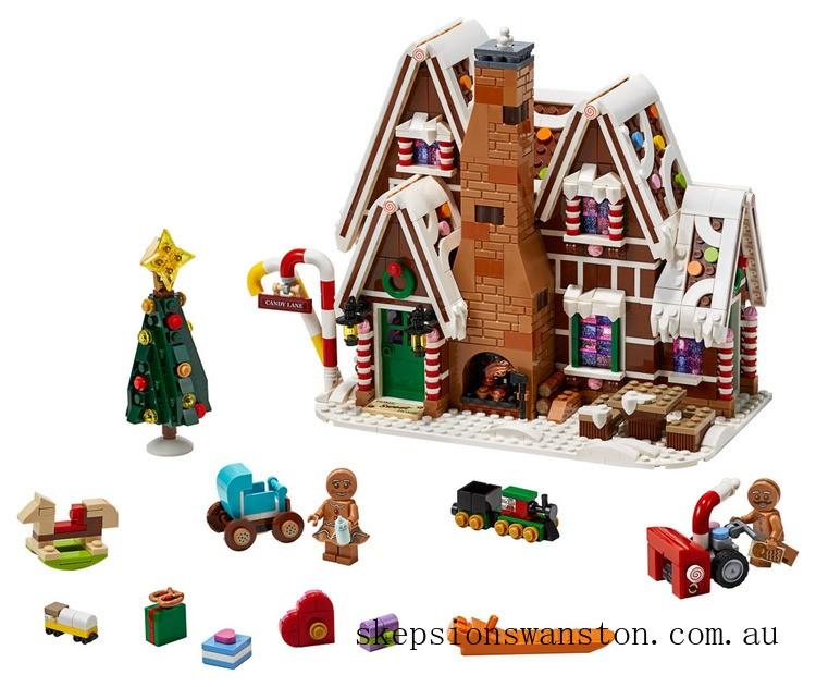 Genuine Lego Gingerbread House