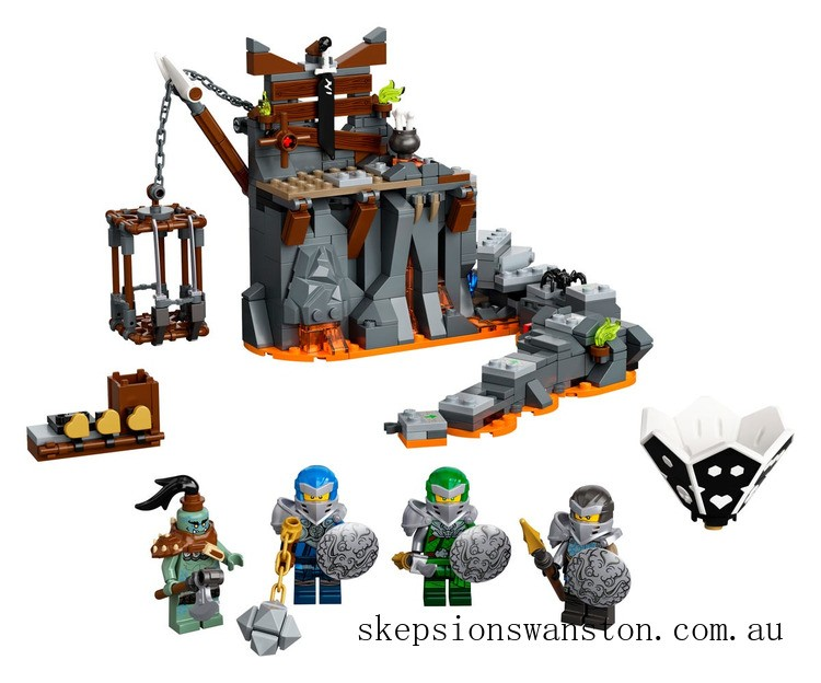 Genuine Lego Journey to the Skull Dungeons