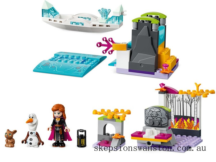 Discounted Lego Anna's Canoe Expedition
