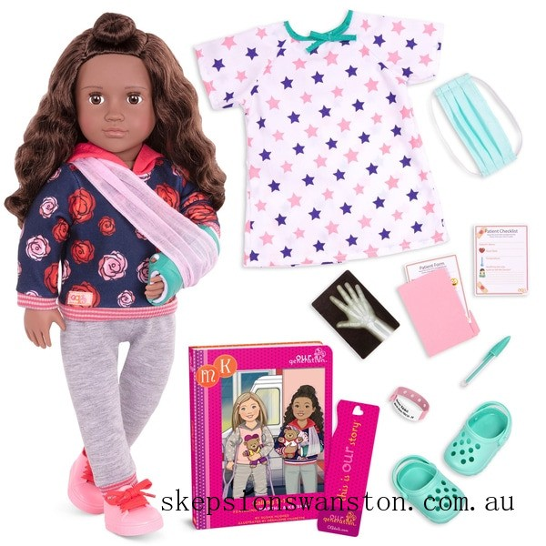 Discounted Our Generation Deluxe Doll Keisha