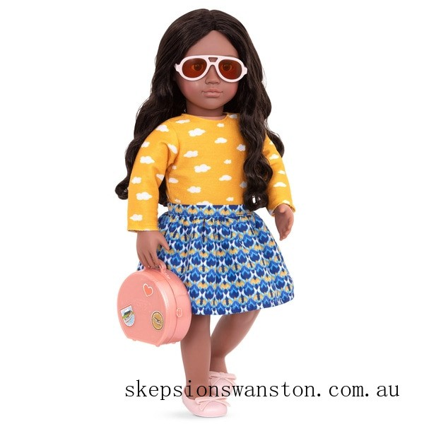 Genuine Our Generation Deluxe Doll Arya