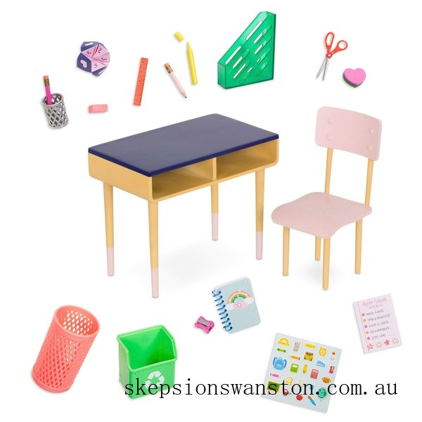 Outlet Sale Our Generation Brilliant Bureau Desk Set