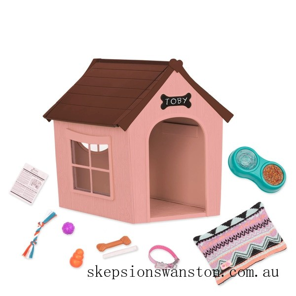 Clearance Our Generation Dog House Set