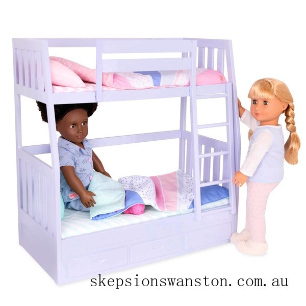 Outlet Sale Our Generation Dream Bunk Bed