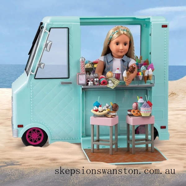 Discounted Our Generation Sweet Stop Ice Cream Truck