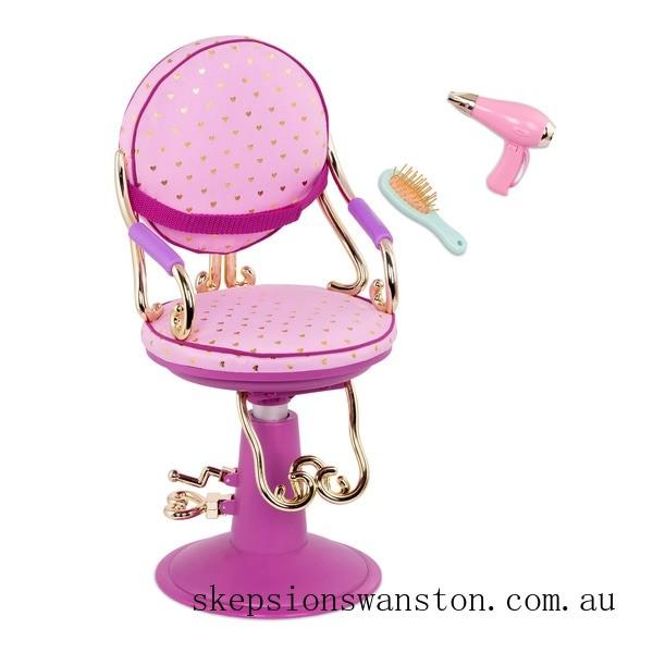 Outlet Sale Our Generation Sitting Pretty Salon Chair Set