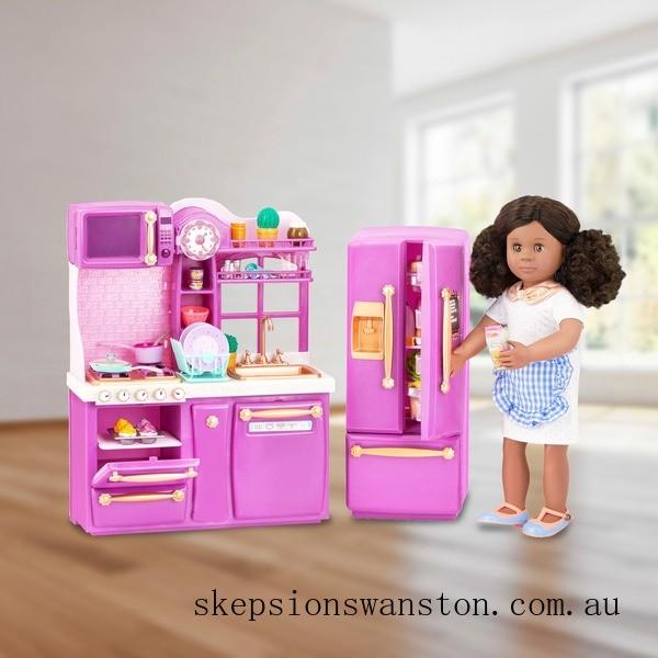 Outlet Sale Our Generation Gourmet Kitchen Set