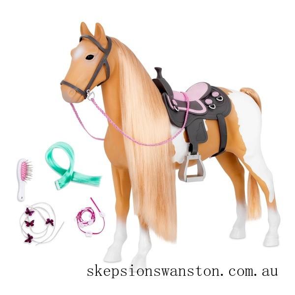 Discounted Our Generation Palamino Hair Play Horse