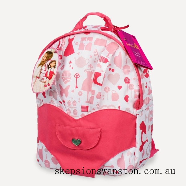 Clearance Our Generation Hop On Doll Carrier Back Pack - Party