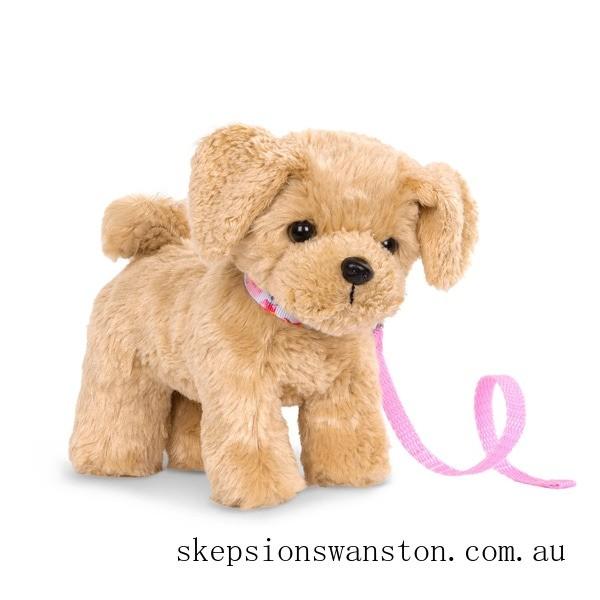 Outlet Sale Our Generation 15cm Poseable Goldendoodle Pup