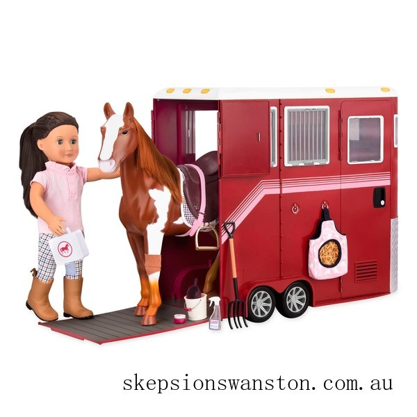 Hot Sale Our Generation Mane Attraction Horse Trailer