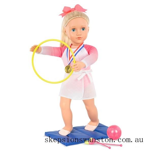 Genuine Our Generation Gymnast Doll Diane