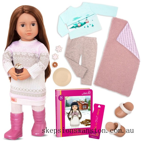 Clearance Our Generation Deluxe Doll Sandy