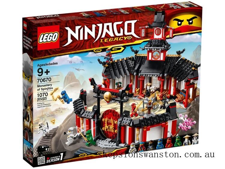 Outlet Sale Lego Monastery of Spinjitzu