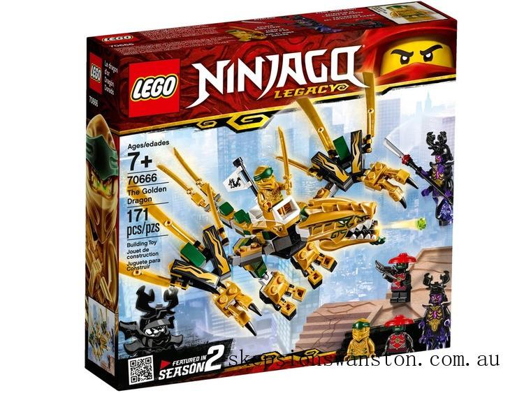 Genuine Lego The Golden Dragon