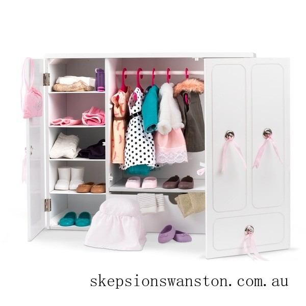 Discounted Our Generation Wooden Wardrobe