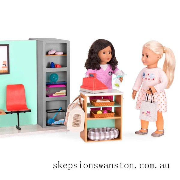 Discounted Our Generation Deluxe Pet Store Set