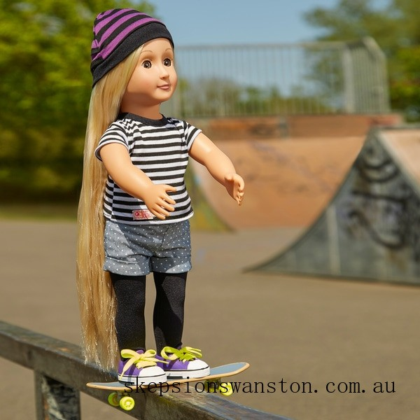 Discounted Our Generation That's How I Roll Skater Outfit