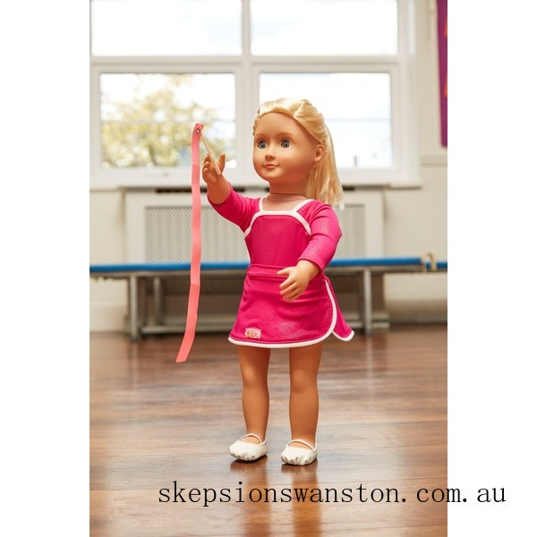 Outlet Sale Our Generation Leaps and Bounds Deluxe Gymnast Outfit