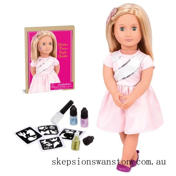 Clearance Our Generation Rosalyn Hair Play Doll