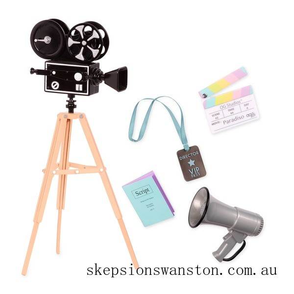 Outlet Sale Our Generation Cameras Rolling Accessory Set