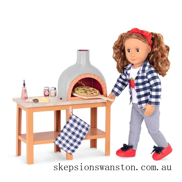 Hot Sale Our Generation Pizza Oven Playset