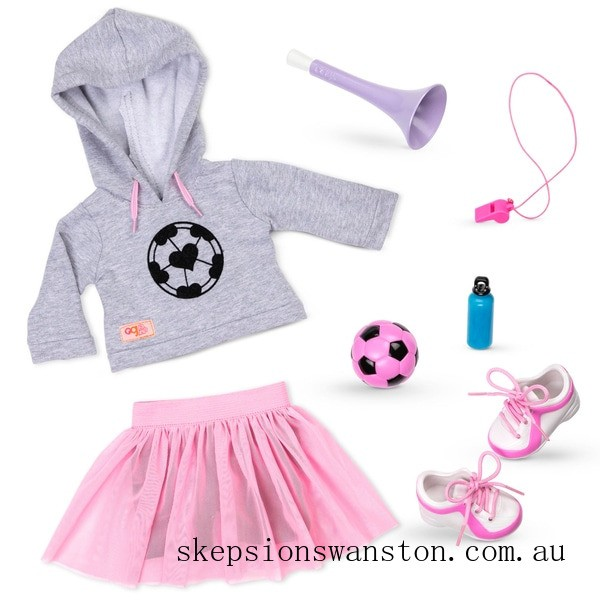 Outlet Sale Our Generation Deluxe Soccer Outfit