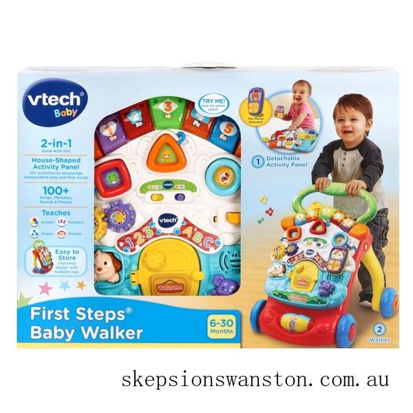 Genuine VTech First Steps Red Baby Walker