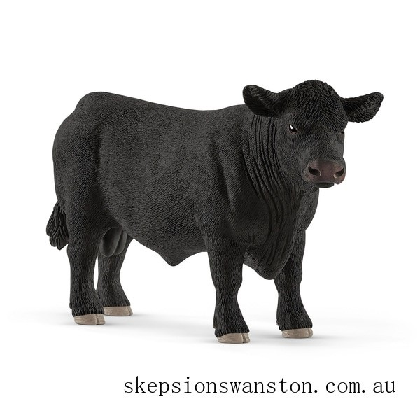 Genuine Schleich Black Angus Bull