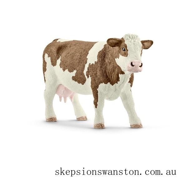 Discounted Schleich Simmental Cow Figure