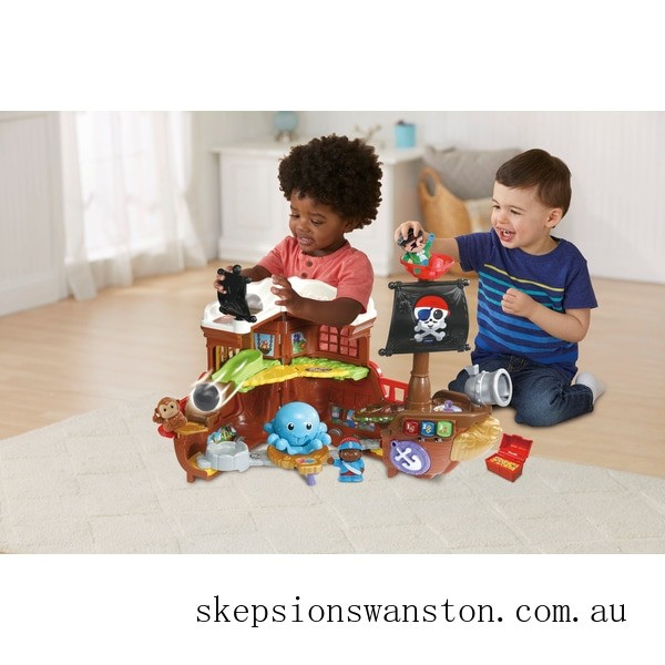 Clearance VTech Toot-Toot Friends Kingdom Pirate Ship