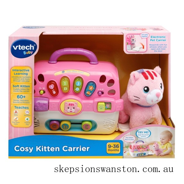 Outlet Sale VTech Cosy Kitten Carrier
