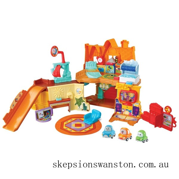 Discounted Vtech Toot-Toot Cory Carson Stay & Play Home Playset