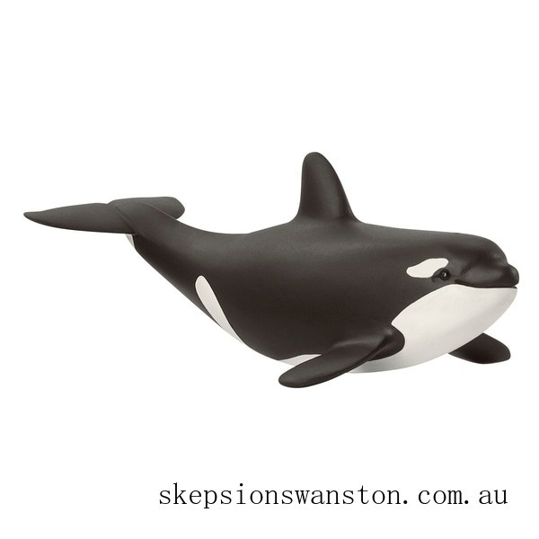Discounted Schleich Baby Orca