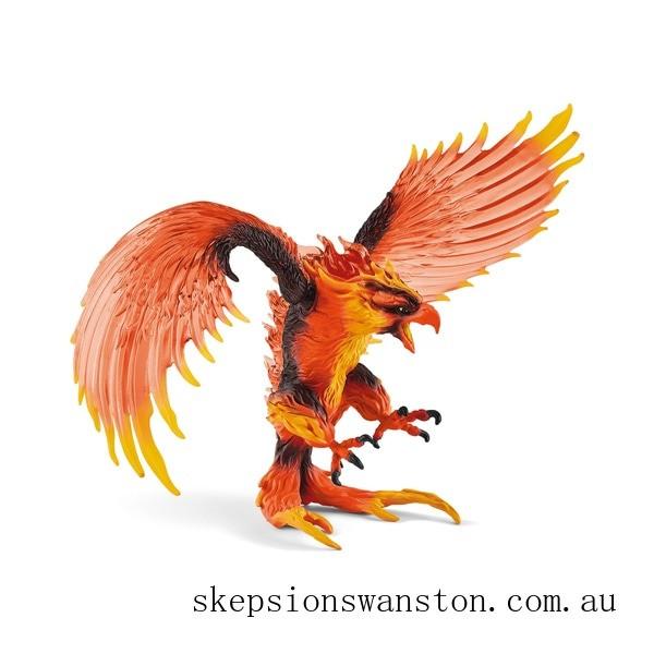 Genuine Schleich Eldrador Fire eagle