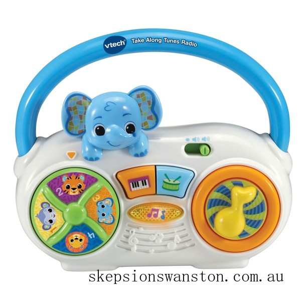 Outlet Sale Vtech Take Along Tunes Radio