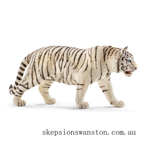Discounted Schleich Tiger, white