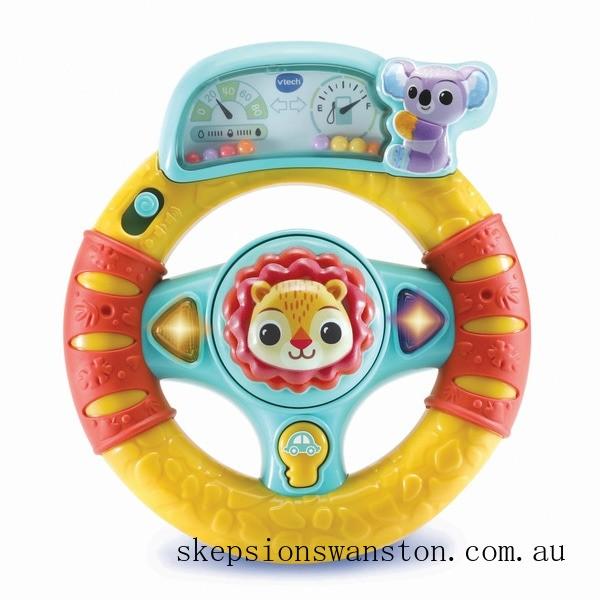 Clearance Vtech Baby Roar & Explore Wheel