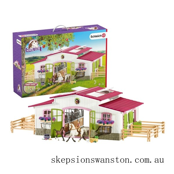 Clearance Schleich Horse Club Riding Centre