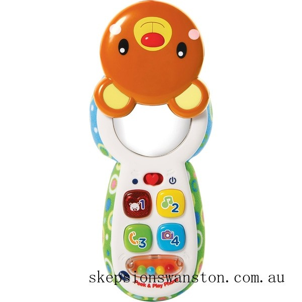 Discounted VTech Peek and Play Phone