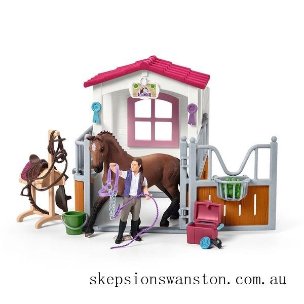 Genuine Schleich Wash Area with Horse Stall