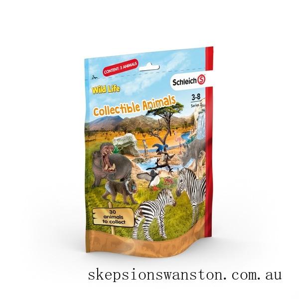 Genuine Schleich Wild Life Collectible Animals Pack Assortment