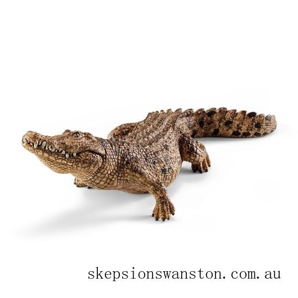 Genuine Schleich Crocodile