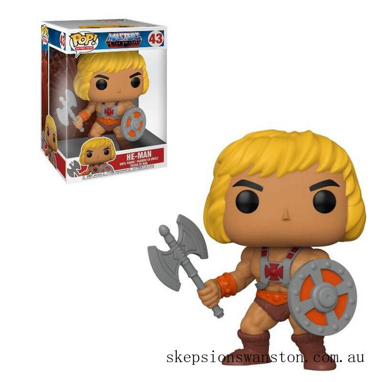 Masters of the Universe He-Man 10-Inch Pop! Vinyl Figure Clearance Sale