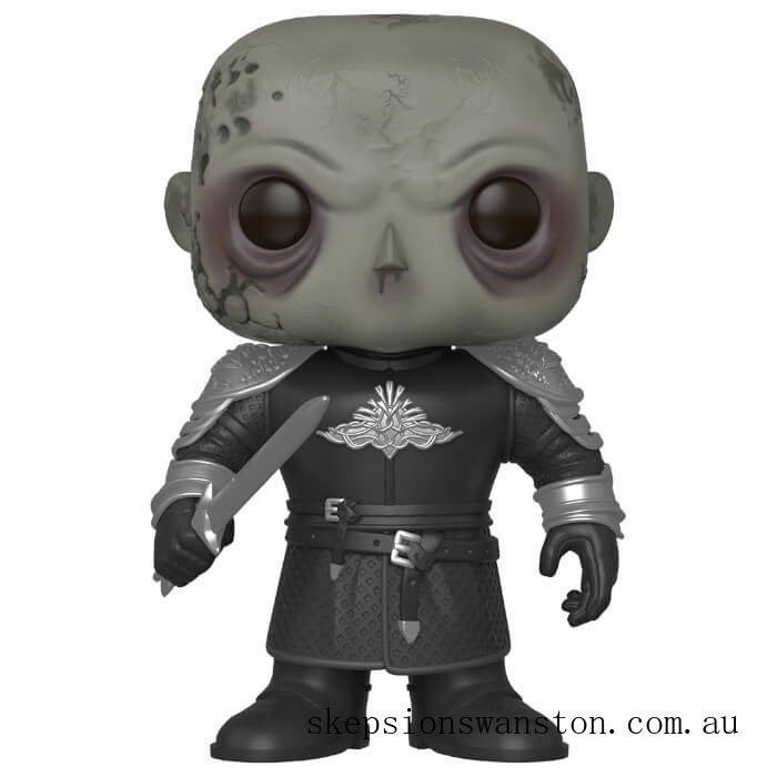 Game of Thrones The Mountain Unmasked 6 Inch Funko Pop! Vinyl Clearance Sale