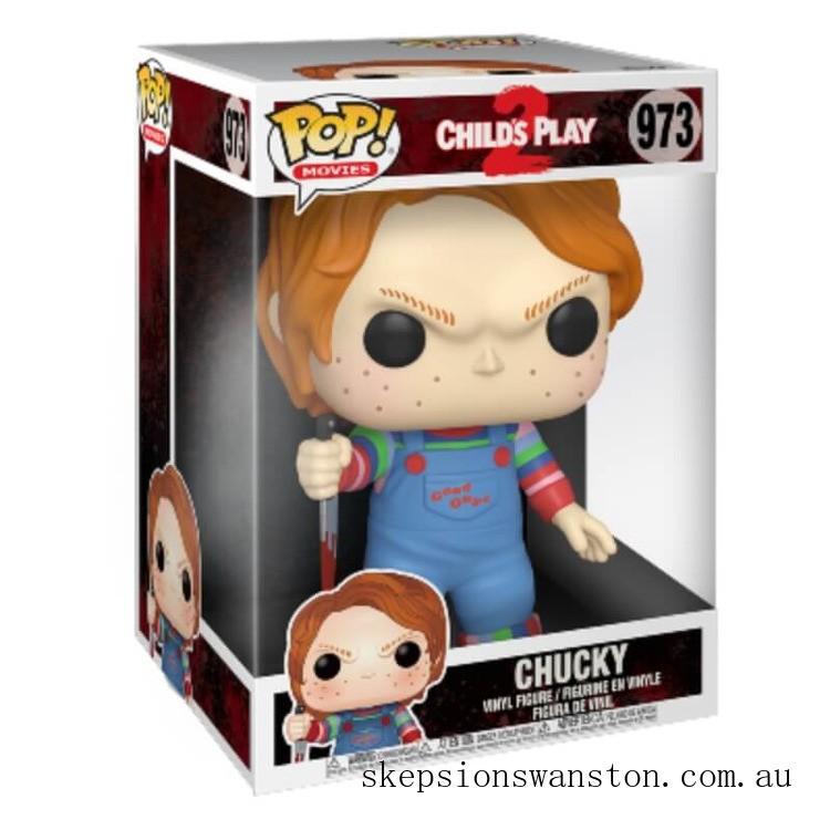 A Child's Play Chucky 10-Inch Funko Pop! Vinyl Clearance Sale