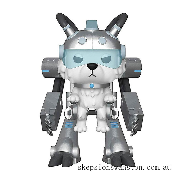 Rick and Morty Snowball in Mech Suit 6 Inch Funko Pop! Vinyl Clearance Sale
