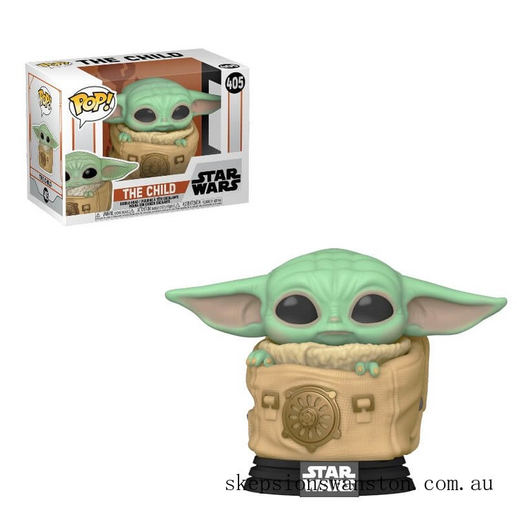 Star Wars The Mandalorian The Child (Baby Yoda) with Bag Funko Pop! Vinyl Clearance Sale